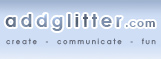 AddGlitter.com Logo